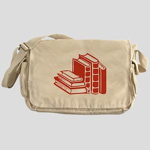 Red Books Messenger Bag