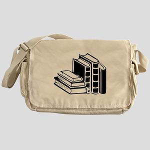Books Messenger Bag