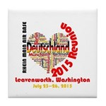 Tile Coaster Love Germany