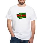 Men's White Tee Wa Logo T-Shirt