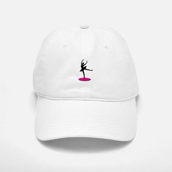 On Toe Ballerina Baseball Baseball Baseball Cap