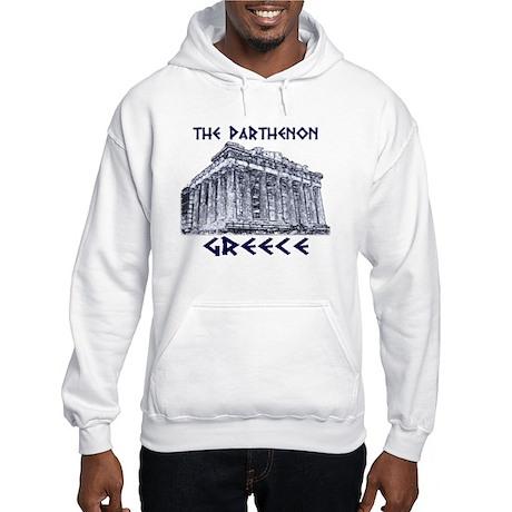 Parthenon Athens Hooded Sweatshirt