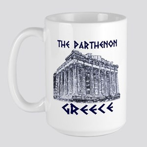 Parthenon Athens Large Mug