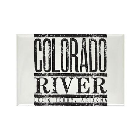 River Running Rectangle Magnet (10 pack)