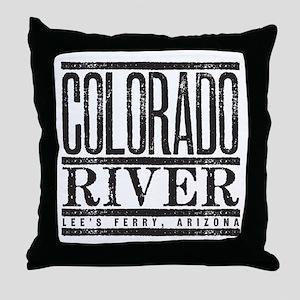 River Running Throw Pillow