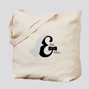 Mr & Mrs Ampersand Tote Bag