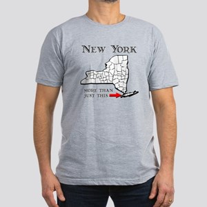 NY More Than Just This Men's Fitted T-Shirt (dark)