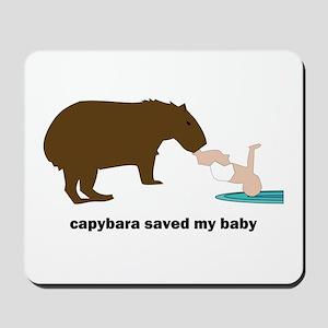 Capybara Hero Mousepad
