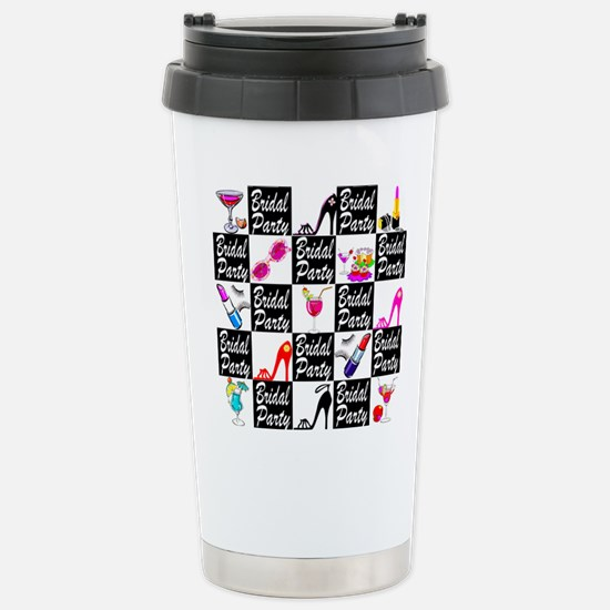 FOXY BRIDAL PARTY Stainless Steel Travel Mug