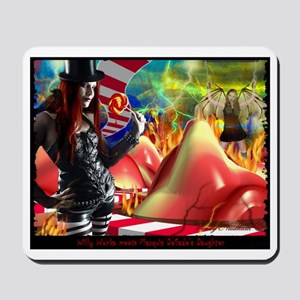In her Wildest Dreams Mousepad