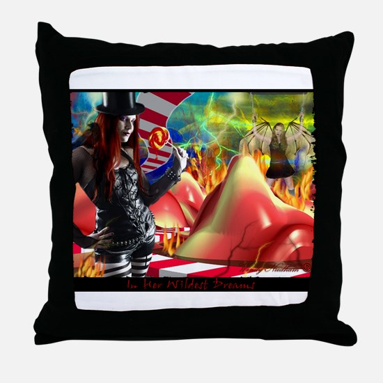 In her Wildest Dreams Throw Pillow