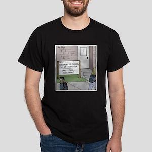 Lights Camera Unemployment Dark T-Shirt