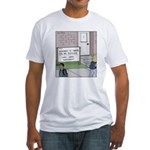 Lights Camera Unemployment Fitted T-Shirt