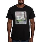 Lights Camera Unemploy Men's Fitted T-Shirt (dark)