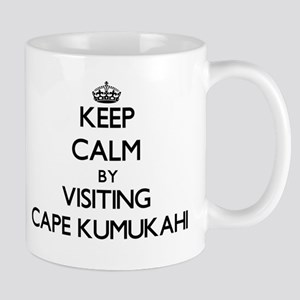 Keep calm by visiting Cape Kumukahi Hawaii Mugs