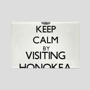 Keep calm by visiting Honokea Hawaii Magnets