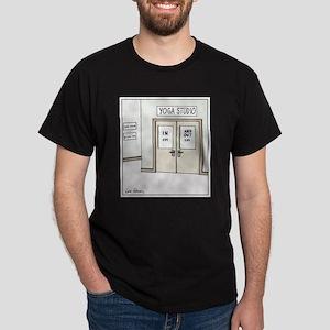 Yoga Studio Doors Dark T-Shirt