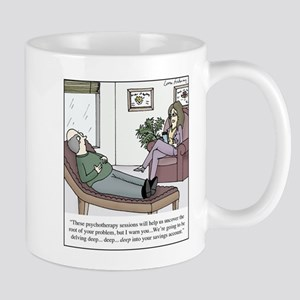 Expensive Psychotherapy 11 oz Ceramic Mug