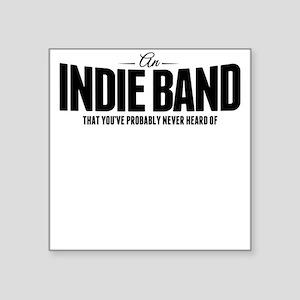 An Indie Band Sticker