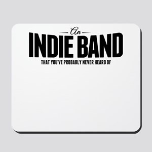An Indie Band Mousepad