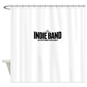Indie Band Shower Curtains
