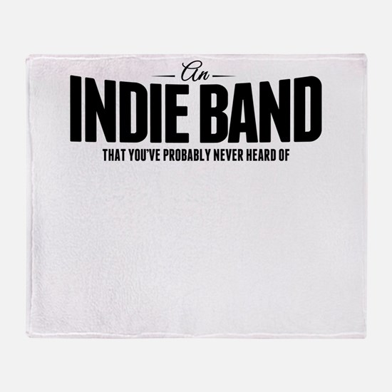 An Indie Band Throw Blanket