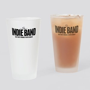 An Indie Band Drinking Glass