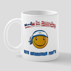 Made in America Nicaraguan pa Mug