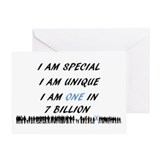 Downs syndrome Greeting Cards