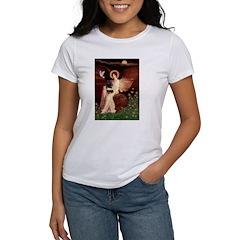 Angel (#1) & Schipperke Women's T-Shirt