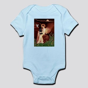 Angel (#1) & Schipperke Infant Bodysuit