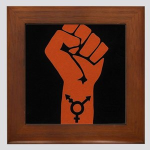 Transgender Solidarity Framed Tile