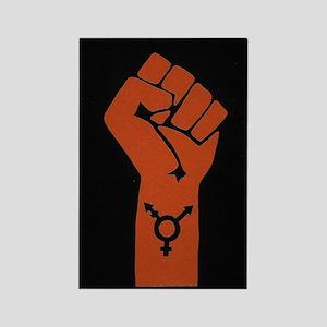 Transgender Solidarity Rectangle Magnet