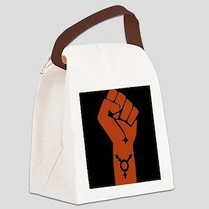 Transgender Solidarity Canvas Lunch Bag