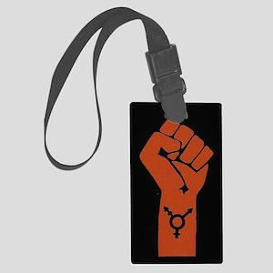 Transgender Solidarity Large Luggage Tag