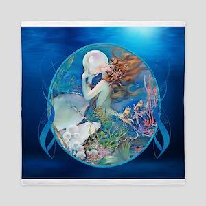 Clive Sensual Pearl Mermaid Queen Duvet