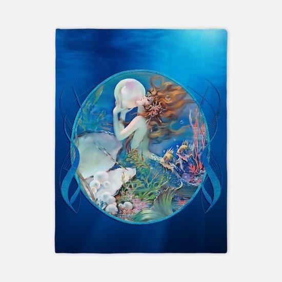 Clive Pearl Mermaid Facing Left Twin Duvet