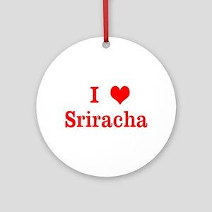 sriracha love Ornament (Round)