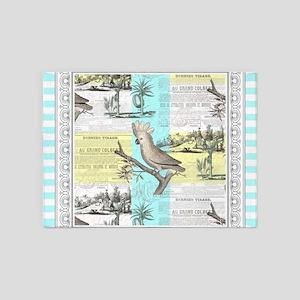 Cockatoo Tropical Dream 5'x7'Area Rug