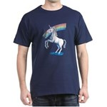 Rainbow Unicorn Dark T-Shirt