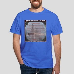 PoetryTagSlamWinner-Phaeties Dark T-Shirt