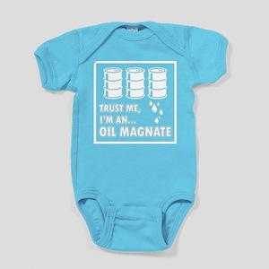 Oil Magnate Baby Bodysuit