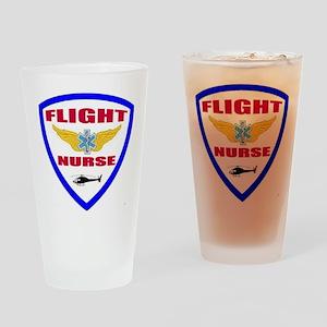FLIGHTNURSE3 Drinking Glass