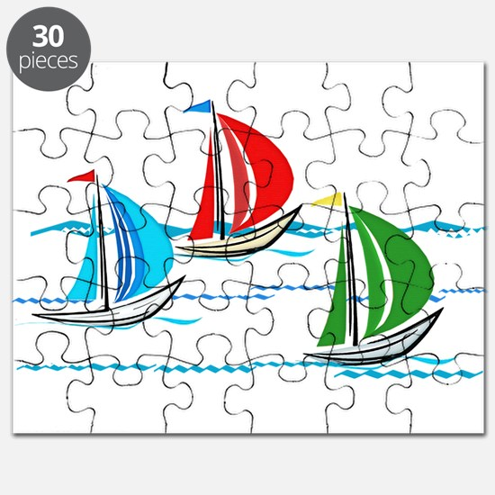 Cute Sailing Puzzle
