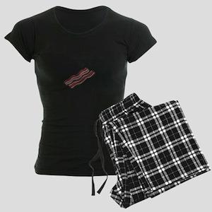bacon makes everything bette Women's Dark Pajamas