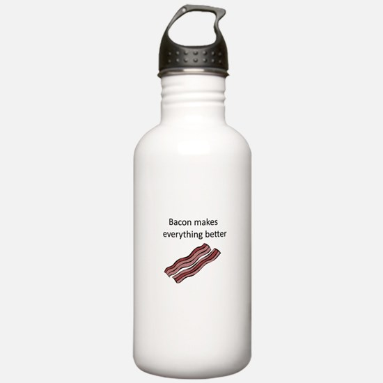 bacon makes everything Water Bottle