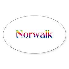 Norwalk Oval Sticker