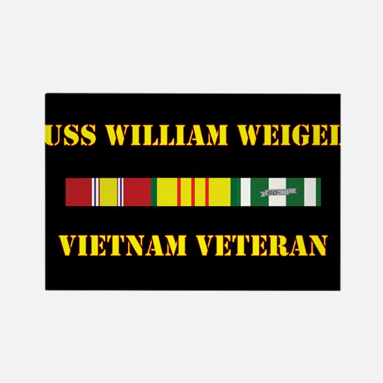 USS William Weigel Magnets