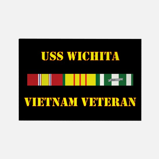 USS Wichita Magnets