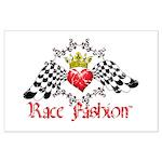 RaceFashion.com LOGO Large Poster